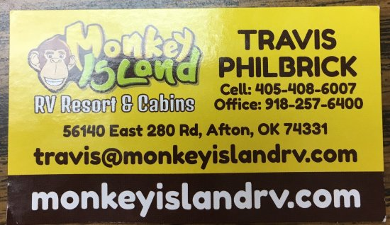 Afton, Оклахома: Monkey Island RV Resort