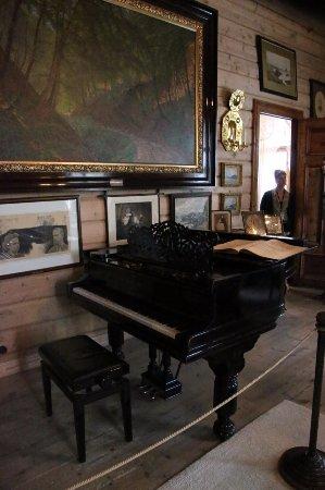 Ullensvang, Norvegia: Grieg's baby grand