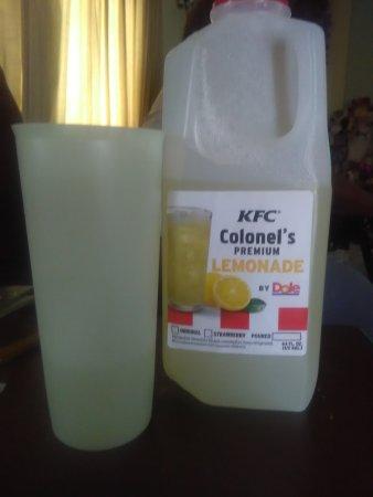 Gallup, نيو مكسيكو: Order a 1/2 gallon of lemonade - refreshing
