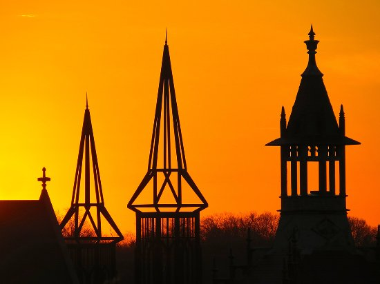 Spires In Downtown Clarksville Tn Picture Of