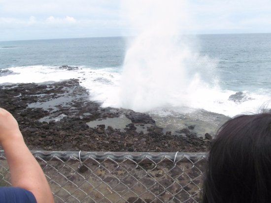 Spouting Horn: lots of ocean action