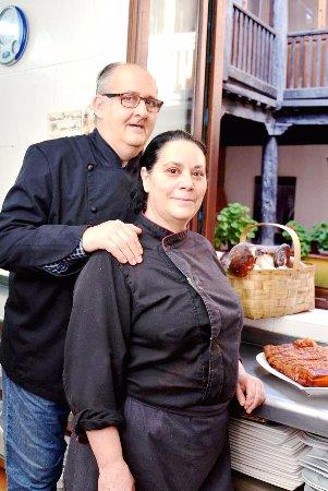 Saldana, Spanien: Isabel CURIEL y Ángel GONZÁLEZ. Productos de Cercanía y de Castilla y León.