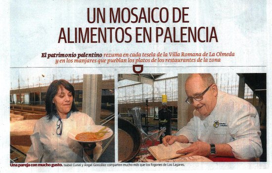 Saldana, Hiszpania: Nuestros PLATOS tienen como Protagonistas LOS PRODUCTOS DE CALIDAD DE PALENCIA.
