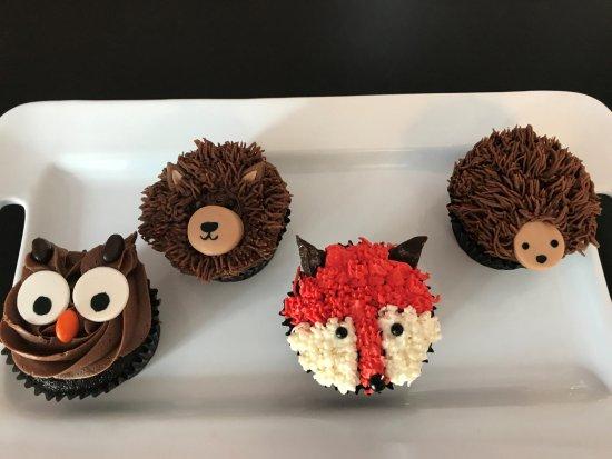 Designer Cakes Desserts Custom Animal Cupcakes