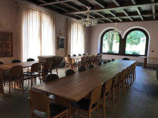 Bianzone, อิตาลี: una delle sale degustazione
