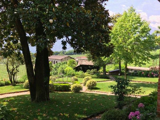 Bianzone, อิตาลี: il giardino