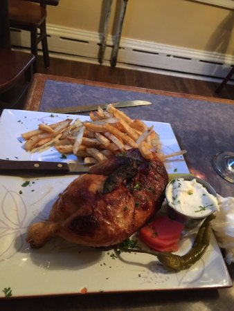 Skippack, PA: Roast Half Chicken