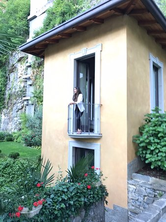 Pognana Lario, Italia: Our Garden Suite room at Villa Lario! We could hear the birds chirping every morning!