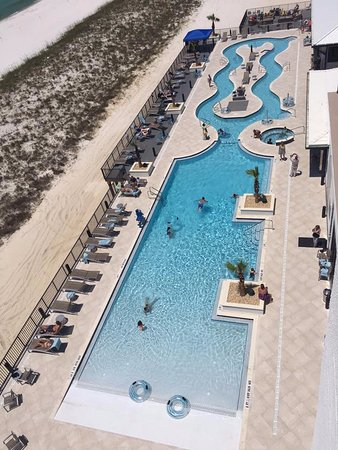 Springhill Suites By Marriott Navarre Beach View Of Pool N Lazy River