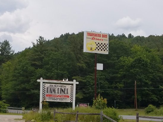 Townshend, VT: roadside sign