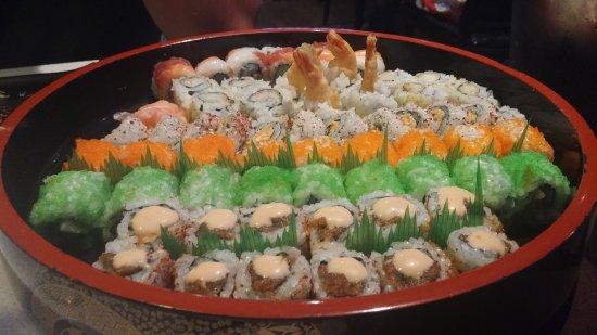 Okurama Japanese Cuisine & Lounge: piatto