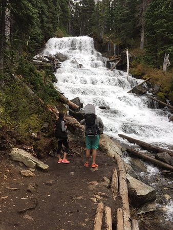 Pemberton, Kanada: Joffre Creek waterfall