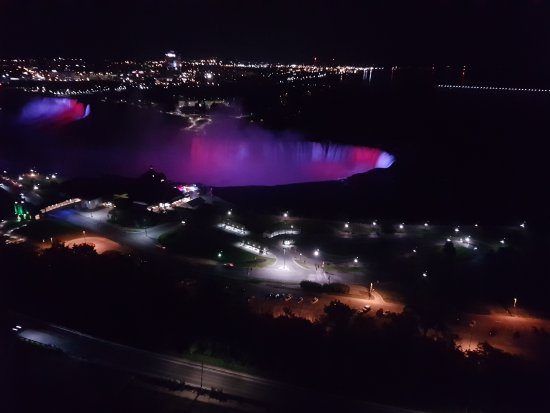 Niagara Falls Marriott on the Falls: View from Room 2601.