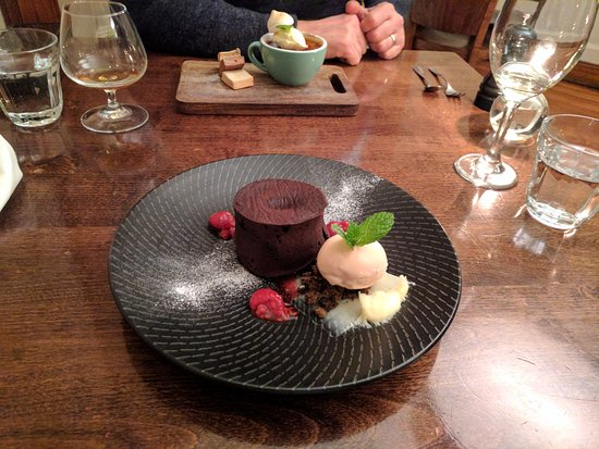 Lower Hutt, Nueva Zelanda: Chocolate fondant