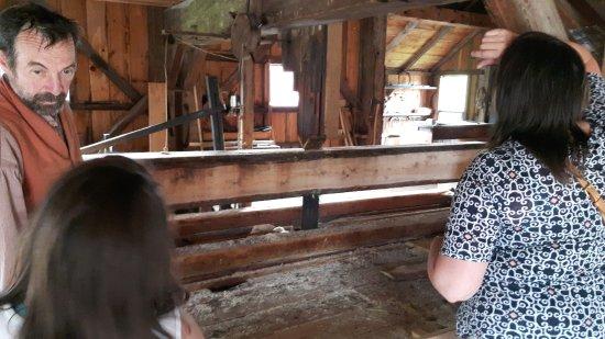 Morrisburg, แคนาดา: Working sawmill!