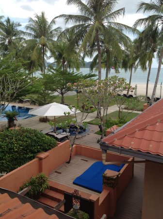 """Casa del Mar, Langkawi: The view from """"Eucalipto"""" (our room name)"""