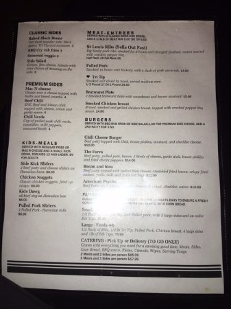 Placentia, CA: Menu 2. Sorry for the shine, tried to get it off.