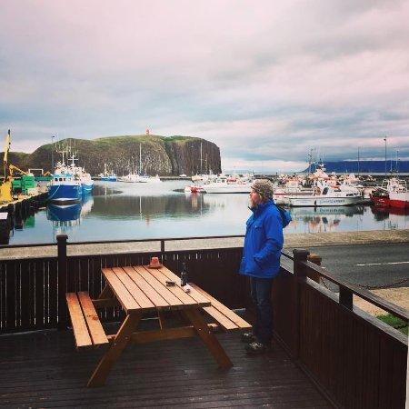Stykkisholmur, Island: patio