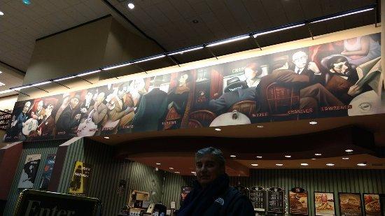 Clifton, NJ: Gran cafeteria