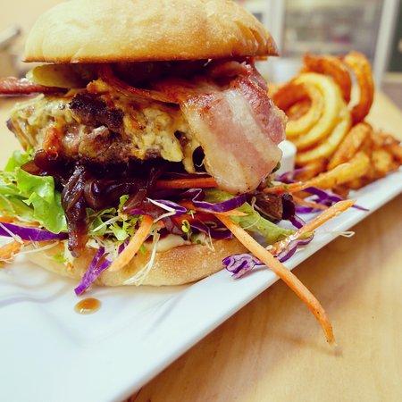Motueka, Nya Zeeland: Beef Burger