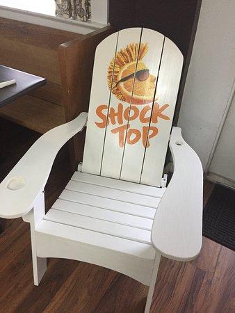 Houma, LA: Shock Top Chair for Raffle