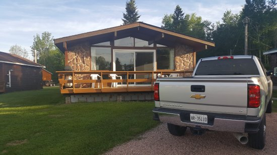 Gowganda, Canadá: This was our cabin