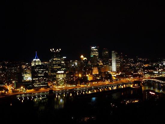 Duquesne Incline: Pittsburgh viewed from Mt. Washington