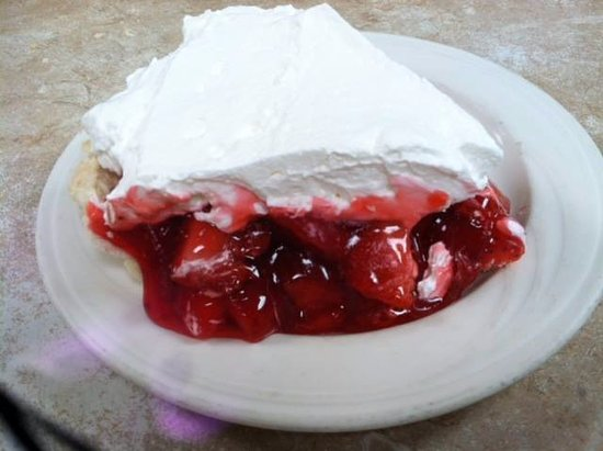 Ashland, OH: Fresh strawberry pie!!