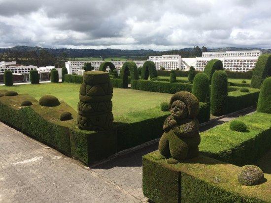 Tulcan, Ecuador: los jardineros son unos artistas