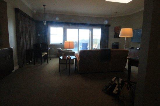 Whale Cove Inn: the huge room