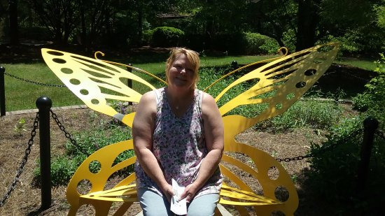 Sumter, Carolina del Sur: Butterfly Bench