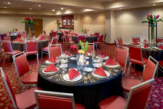 Four Points by Sheraton Memphis East: Delta Room - Set for a banquet