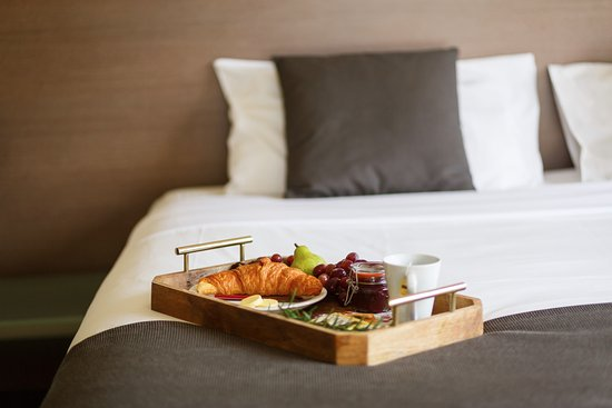 Yering, Australia: Breakfast in Bed.