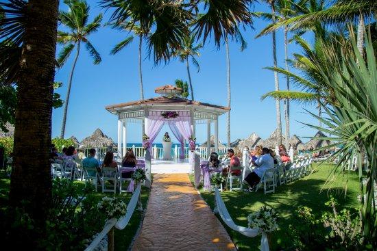 Melia Caribe Tropical Beach Gazebo Wedding Ceremony