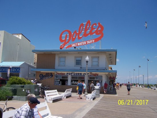 Rehoboth Beach Boardwalk : In business over 50yrs