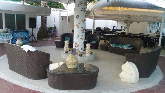Hotel Boutique Le castel blanc: Lounge