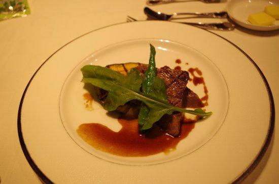 Tenei-mura, Japonia: 問題の冷えてしまっていたステーキ