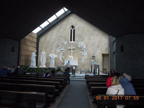 Knock, Ireland: The Apparition Chapel