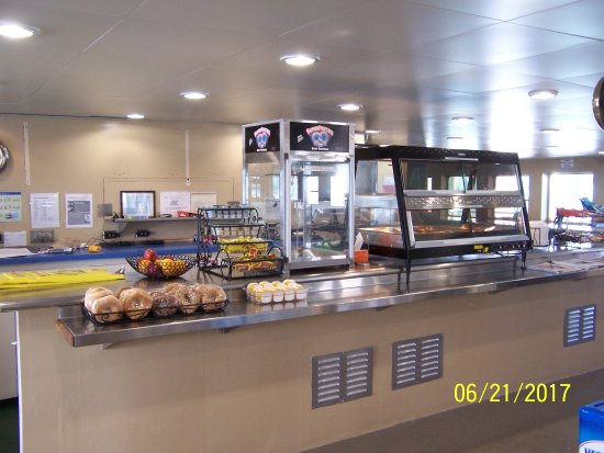 Cape May-Lewes Ferry: The Snack Bar