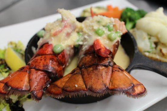 Port Hawkesbury, Canadá: Lobster Newberg