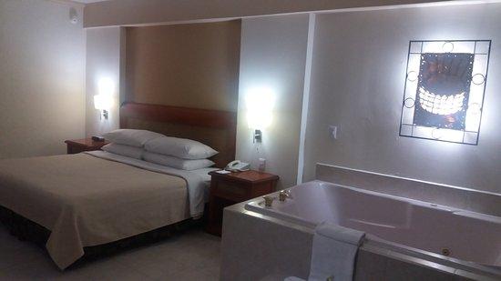 Golden Parnassus All Inclusive Resort & Spa Cancun: Suite com hidro
