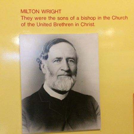 Kill Devil Hills, Βόρεια Καρολίνα: Here's the father of the Wright Brothers: Bishop Milton Wright