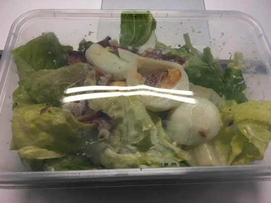 North Sydney, Australia: Paid $8.9 for a large Caesar salad that was half filled to the box. What a rip off. Walked into