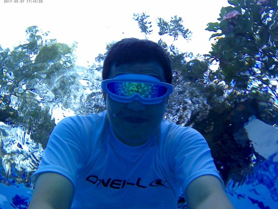 Central Sulawesi, Indonesia: Swimming