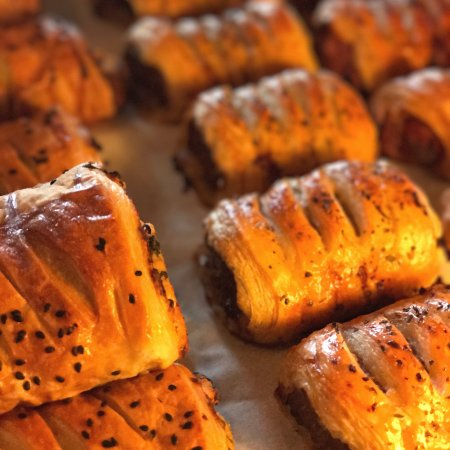Sechelt, Kanada: Sausage Rolls