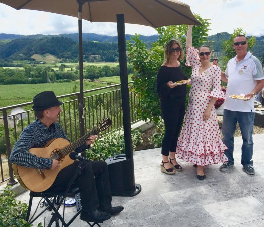 Healdsburg, CA: Club party Flamenco style