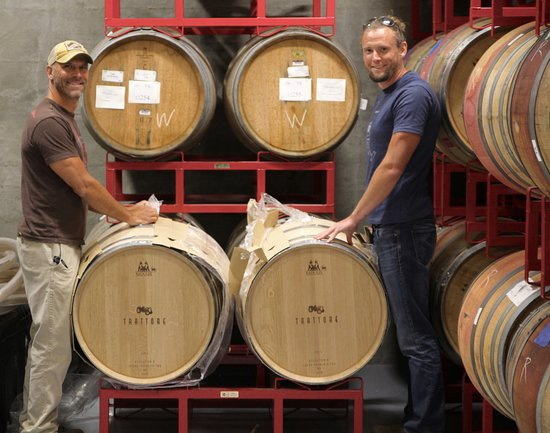 Healdsburg, CA: Assistant winemaker and winemaker at Trattore!