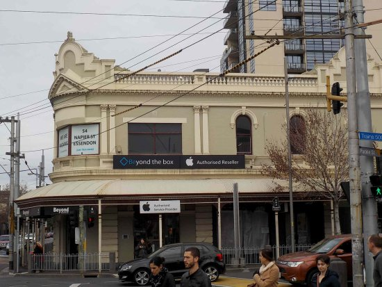 Moonee Ponds, Australia: Old style architecture on cnr of Mt Alexander Road