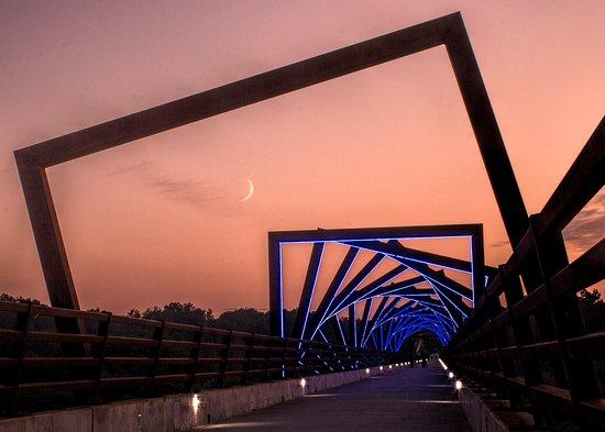 Ankeny, IA: High Trestle Bridge At Twilight