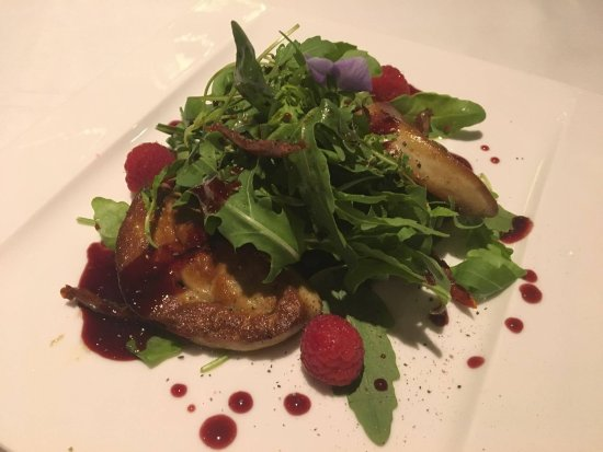 Fireplace Grill and Bar: Foie Gras Salad